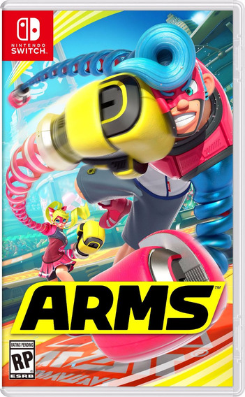 Arms Switch Midia Fisica
