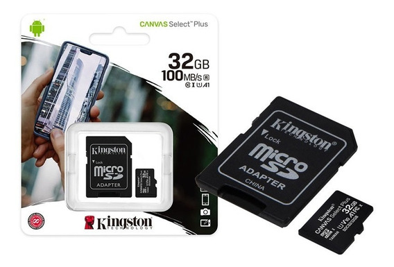 Cartao De Memoria Classe 10 Kingston Sdcs2/32gb