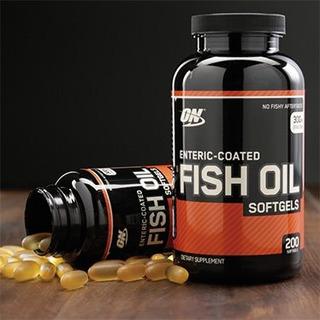 Optimum Nutrition Fish Oil (óleo De Peixe) 200 Cápsulas Gel