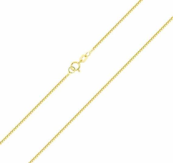 Corrente Gargantilha Em Ouro 18k750 45cm