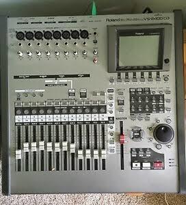 Mesa De Gravação Roland Vs2400 Cd