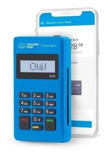 Imagem 1 de 3 de Maquina De Cartão-promoção Point Mini D 150 Mercado Pago