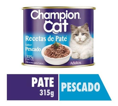 Champion Cat Recetas De Paté Pescado 315g