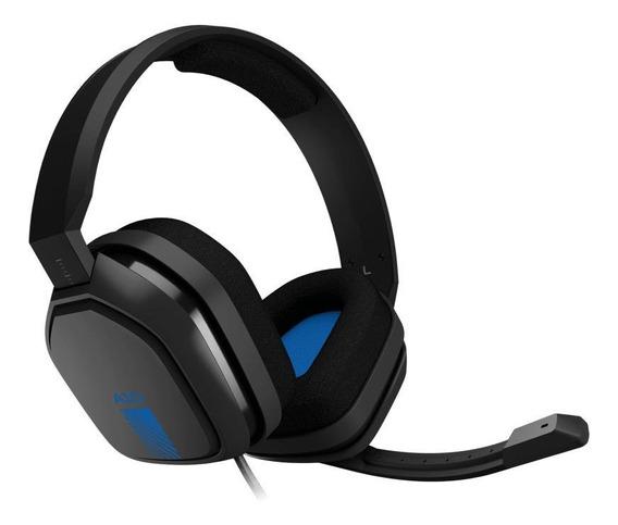 Fone de ouvido gamer Astro A10 grey e blue