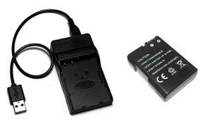 Kit 1 Bateria 1500 Mah + 1 Carregador Usb Para Nikon