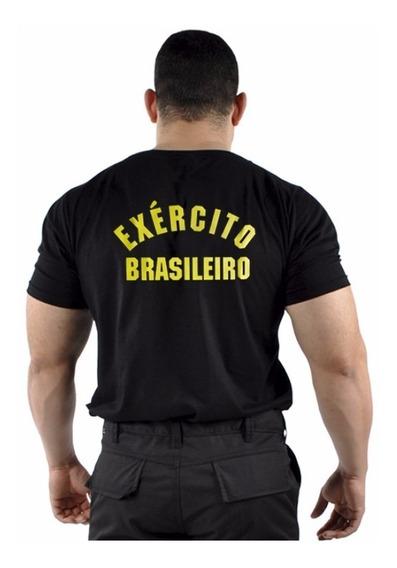 Camiseta Estampada Exército Brasileiro Camiseta Eb Oficial