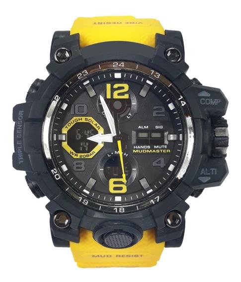 Relógio Digital E Analógico Luz De Led Para Esportes Corrida