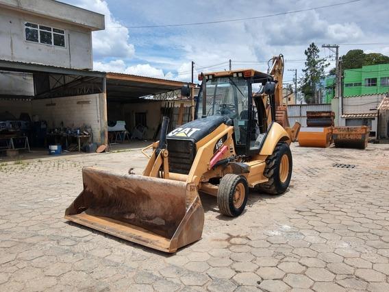 Retro Escavadeira 416e 4x2 Maquina Caterpillar