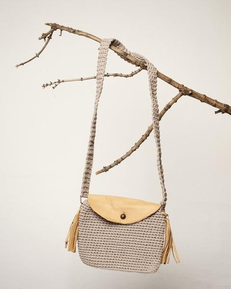 Cartera Tejida Al Crochet Palma
