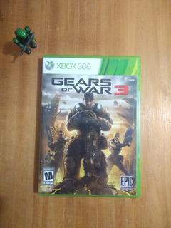 Gears Of War 3. Seminuevo. En Inglés.
