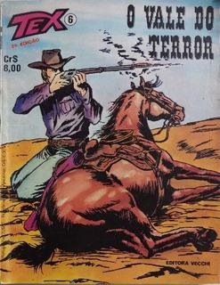 Gibi / Revista Tex Nº 6 - O Vale Do Terror