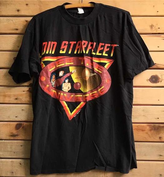 Playera Vintage El Universo De Stark Trek 1993
