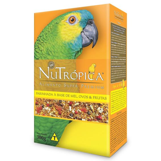 Ração Nutrópica À Base De Mel E Ovos Para Papagaios - 300 G