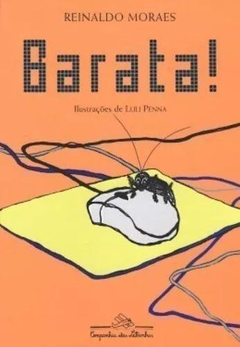 Livro Barata! Reinaldo Moraes