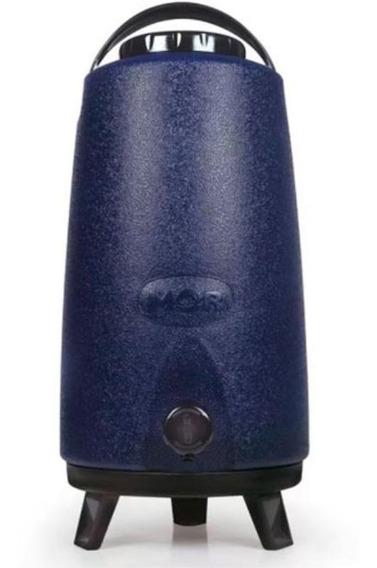 Garrafa Garrafão Botijão Térmico 12 Litros Azul Torneira Mor