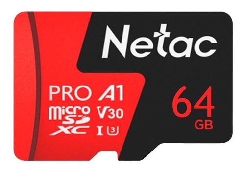 Cartão de memória Netac P500 Pro 64GB