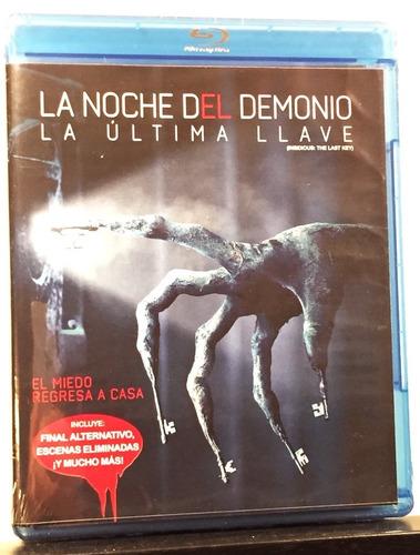 Imagen 1 de 1 de La Noche Del Demonio La Última Llave (bluray) Insidious