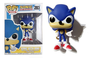 Muñeco Sonic The Hedgehog Funko Pop! Games #283