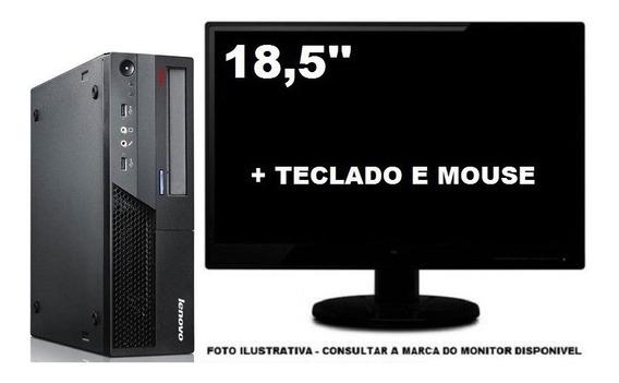 Lenovo Thinkcentre M58 Dualcore 4gb Ddr3 120ssd