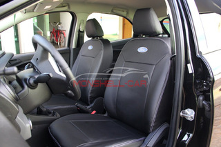 Capas De Bancos Couro Carro P Novo Ford Ka+ Se 1.0 Flex 2018