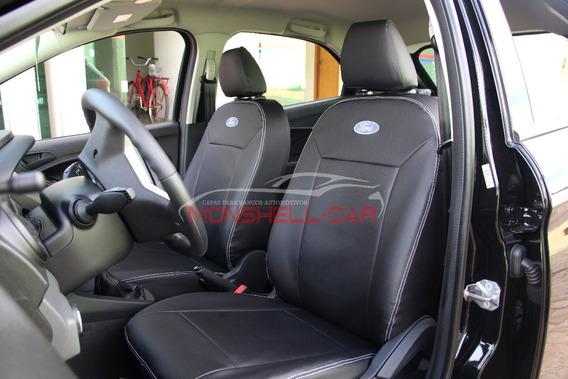 Capas De Bancos Couro Carro P Novo Ford Ka+ Se Plus 1.5 2017