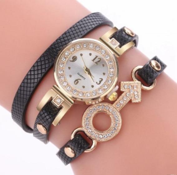 Relógio Feminino Barato Importado Pulseira Elegante Bonito