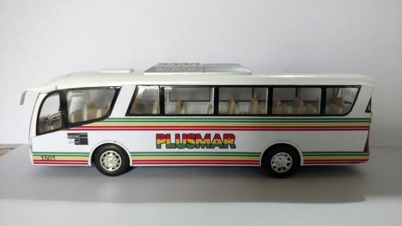 Colectivo Micro Plusmar Bus Metalico 19 Cm Villa Gesell