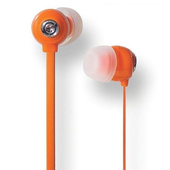 Fone De Ouvido In-ear Youts - Candy Colors Laranja