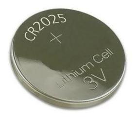 Bateria Lithium Cr2025 3v Cartela C/5 Pilhas Moeda