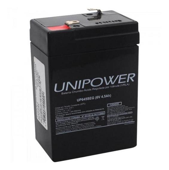 Bateria Para Brinquedo Carrinho Eletrico Motinha 6v 4,5ah Nf