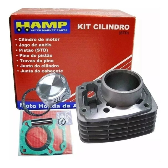 Kit Cilindro Motor Hamp Cg 150 Titan/fan/nxr Bros Original Honda