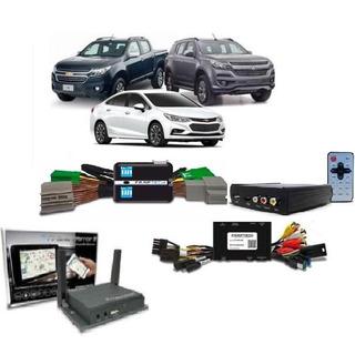 Desbloqueio Tela Cruze, S10, Trailblazer + Tv Hd + Espelham