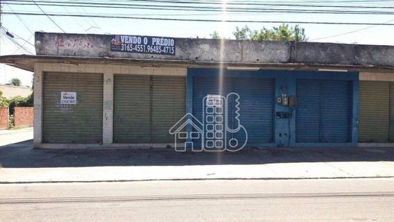 Loja Comercial À Venda, Jardim Catarina, São Gonçalo. - Lo0025