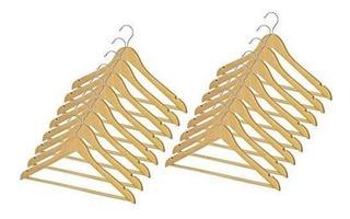 Whitmor 6026-715-16 Clothing Hanger - Colgador De Ropa Wood