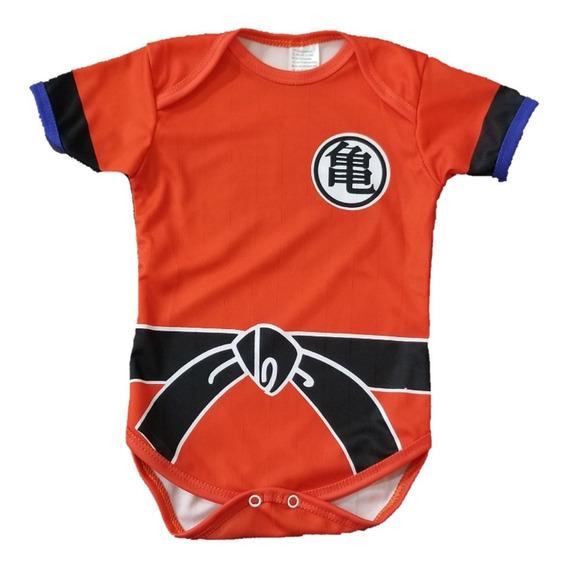 Pañalero Goku Naranja Super Heroes Y Personajes Ropa Bebe