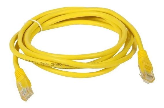 Cable De Red Armado Patch Cord 5 Metros Rj45 Utp Rj 45