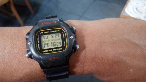 Relógio Casio 1000 Dw 340 Sere Prata Anos 80 Leia O Anuncio