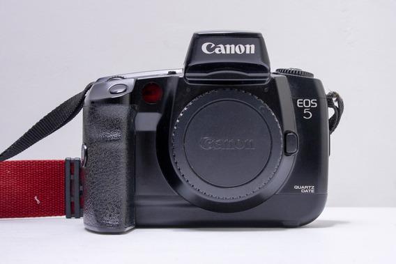 Câmera Analógica Canon Eos-5 Quartz Date