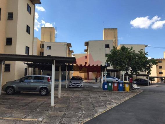 Apartamento Com 2 Dormitórios Para Alugar, 60 M² Por R$ 650/mês - Nova Americana - Americana/sp - Ap0265