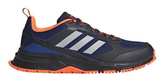 Zapatillas Hombre adidas Rockadia Trail 3.0 Azul/naranja