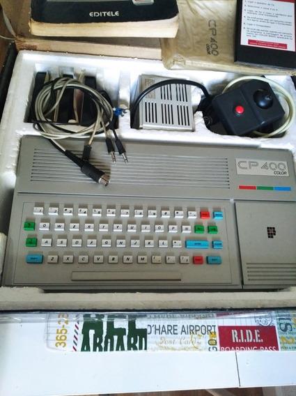 Cp400 Prologica Com Joystick Cp-400 Color Época Tk Msx