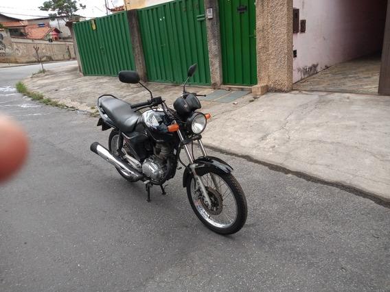 Honda 150 Fan Esdi Preta