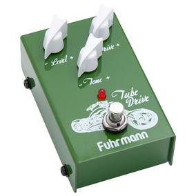 Pedal Guitarra Fuhrmann Tube Drive Over Td02 + Brinde