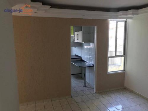 Imagem 1 de 17 de Apartamento Com 2 Dormitórios À Venda, 55 M² Por R$ 175.000,00 - Parque Santo Antônio - Jacareí/sp - Ap9606