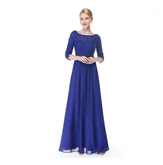 Vestido Mujer Largo Coctel Noche Prom Dama De Honor