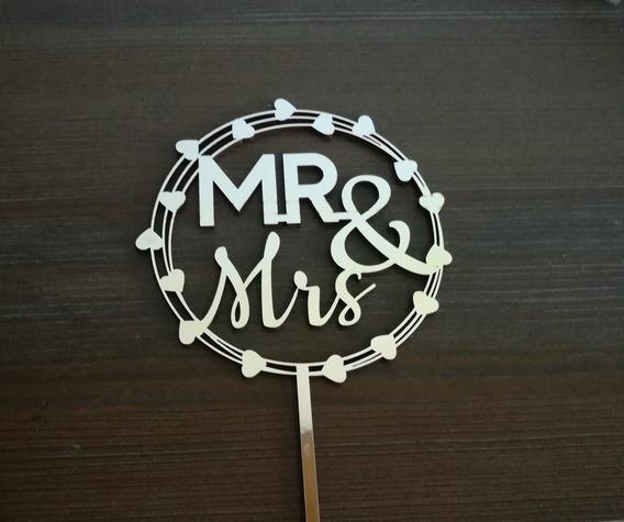 Adorno Para Torta Casamientos