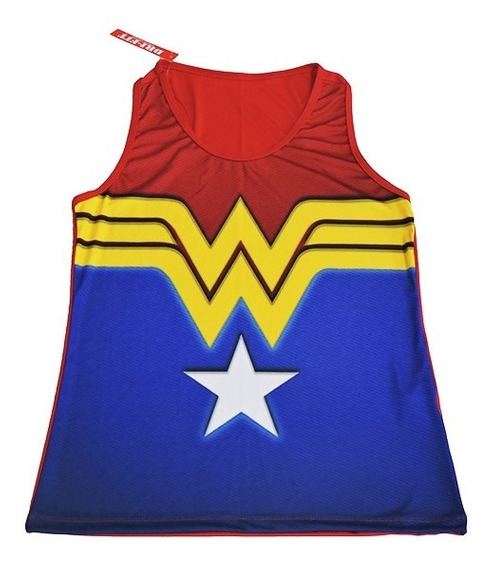 Camisetas Academia Feminina Mulher Maravilha Dry Fit Fitness