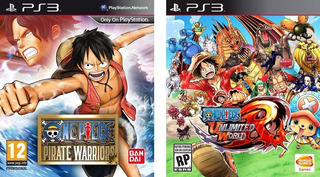 One Piece Pirate Warriors + One Piece Unlimited World Ps3
