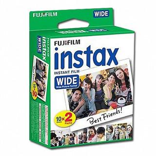 Filme Fujifilm P/ Instax Wide 300 - Caixa Com 20 Fotos