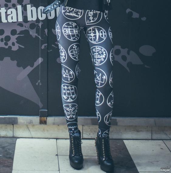 Leggings/ Calza Simbolos Dark Gotico